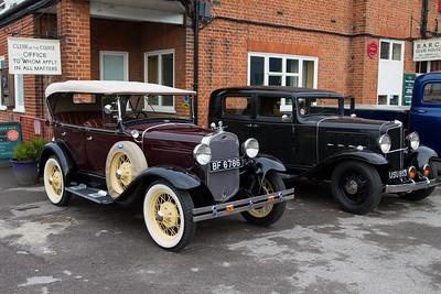 1930 - Ford Model-A 4-door Phaeton