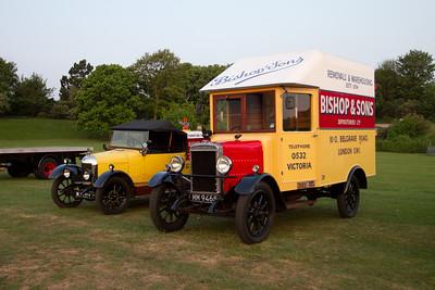 1928 - Morris-Commercial HD 1 Ton Van