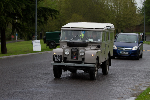 1956 Land Rover 107in Station Wagon