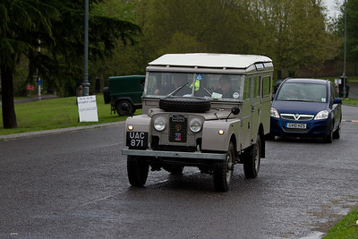 1956 - Land Rover 107in. Station Wagon