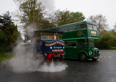 1927 Sentinal Super Steam Wagon