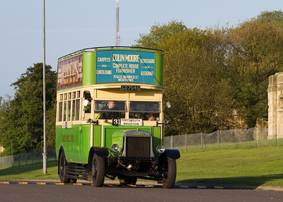 1922 - Leyland N Special Double Deck Bus