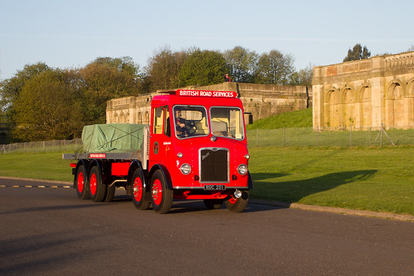 1955 Bristol HG6L 8-Wheeler Flatbed Lorry