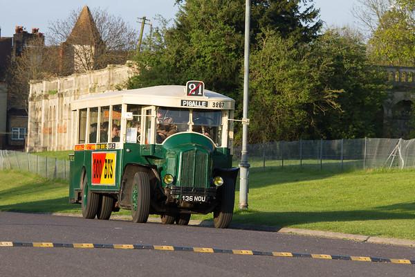 1935 Renault TN4F Single Deck Bus