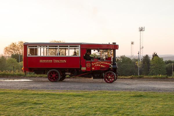 1923 Foden Three Speed Steam Bus