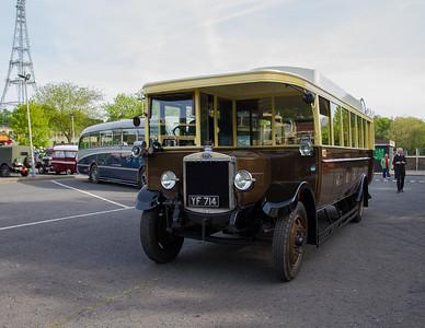 1927 - Guy FBB Single Deck Bus