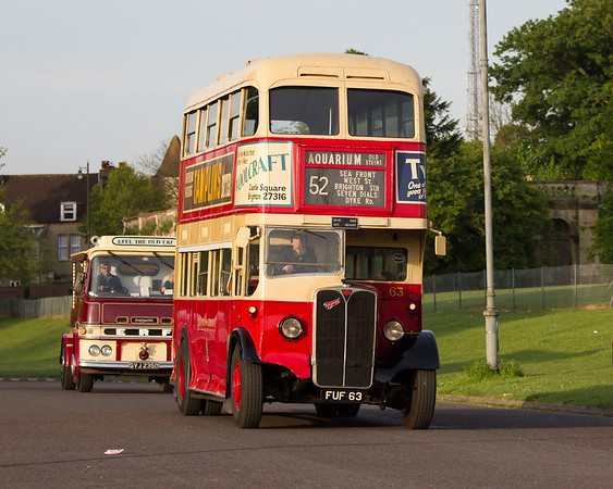 1939 AEC Regent Double Decker Bus with Weymann Body