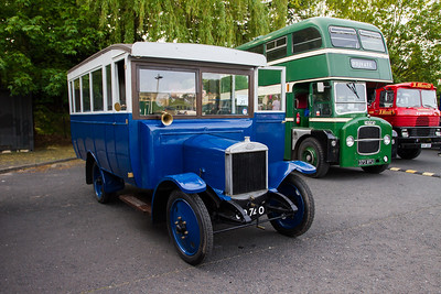 1922 - Guy JA Type Single Deck Bus