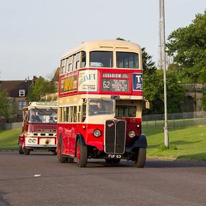 1939 - AEC Regent Double Decker Bus with Weymann Body