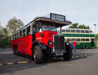1931 - AEC LTL Type Single Deck Bus