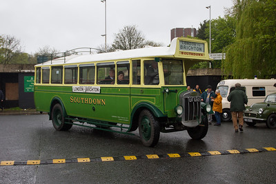 1930 - Tilling Stevens B10 Single Deck Bus