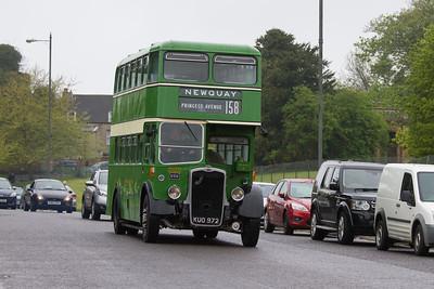 1950 - Bristol K6B Double Deck Bus