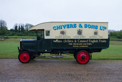 1919 - Leyland RAF Type Box Van