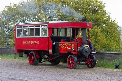 1923 - Foden Three Speed Steam Bus