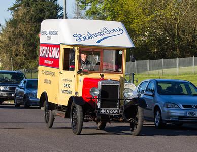 1928 - Morris Commercial 1 Ton Van
