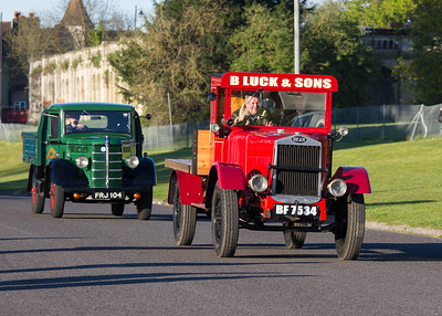 1928 - BEAN Flatbed Lorry