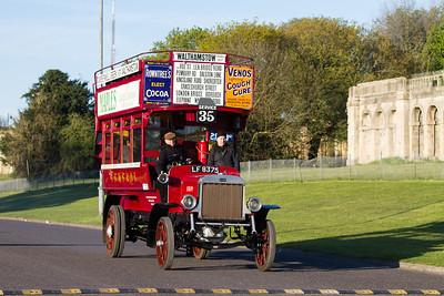1911 - LGOC B Type Double Deck Bus