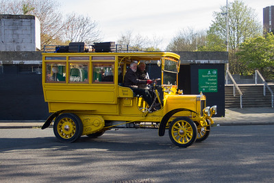 1909 - Commer 20hp Estate Bus