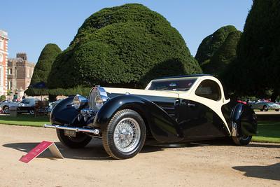 1936 - Bugatti Type 57C Atalante Rollback Coupé