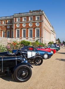 Line of Aston Martin's