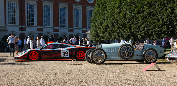 1925 Bugatti Type 35 Grand Prix Two-Seater - 1997 McLaren F1 GTR Long Tail