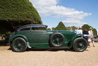 1930 - Bentley Speed Six Gurney Nutting Sportsman's Coupe 'Blue Train'