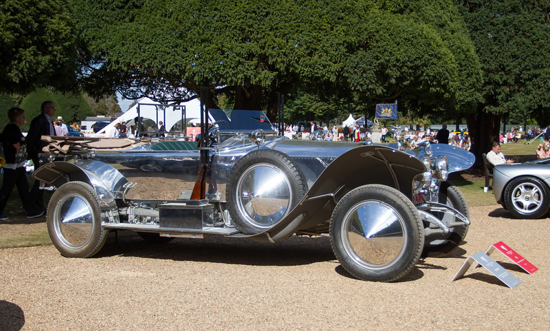 1919 - Rolls-Royce 40/50hp Silver Ghost Baker Polished Torpedo Skiff High Speed Alpine Eagle