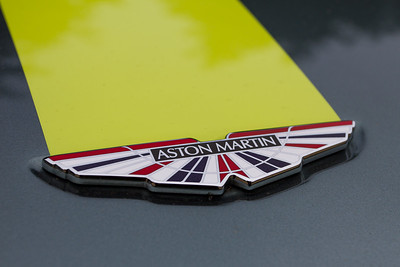 Aston Martin Union Jack Badge