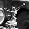 Angel with a Trumpet Mascot - 1904 F.I.A.T. 24/32 Open Tourer
