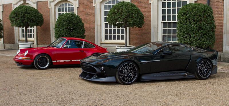 2020 Aston Martin Victor / 2016 Porsche 964 'reimagined' by Singer