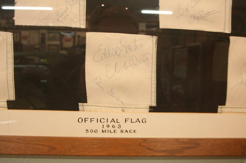 Eddie Sachs signature