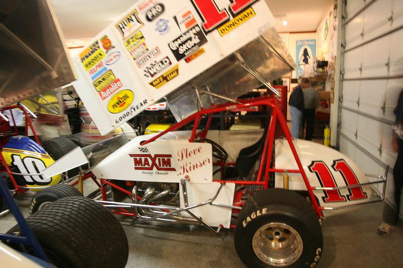 Steve Kinser #11 car