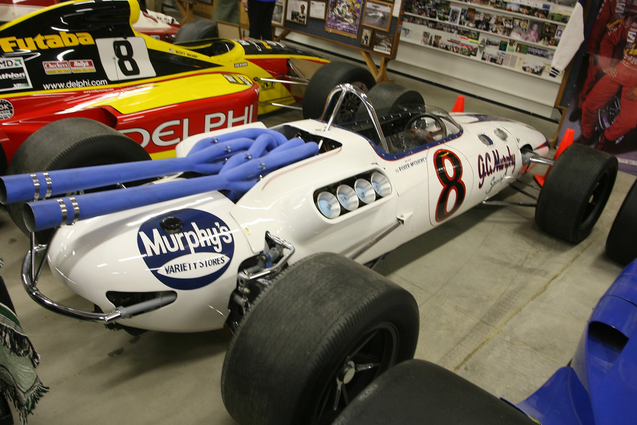 Roger McCluskey #8 Indy car