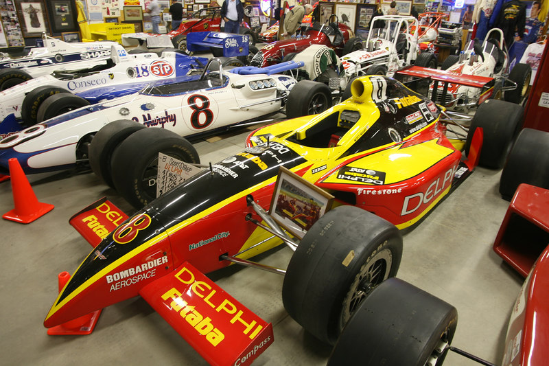 Scott Sharp #8 Indy car