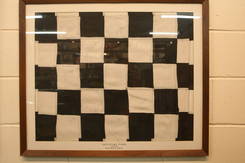 Official Flag of the 1963 Indy 500