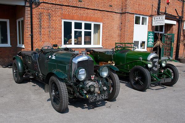1929 Bentley 4½ litre supercharged / 1926 Bentley 3 Litre