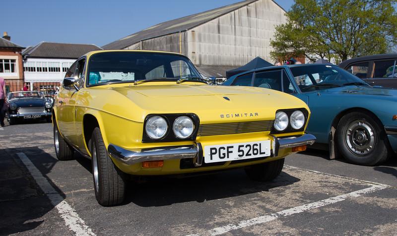 1973 - Reliant Scimitar GTE