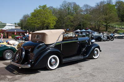1936 - Packard 120 Sedanica Coupe