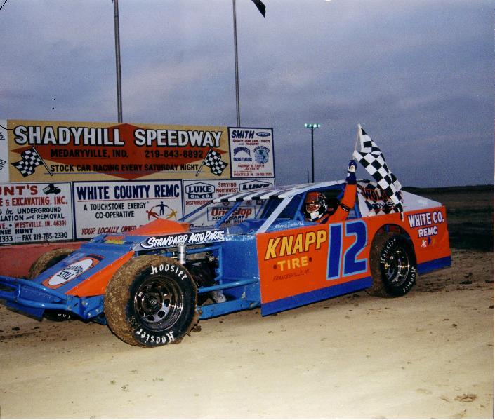 Gary Sheffer at Shadyhill Speedway, Medaryville, Indiana
