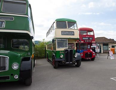 1956 AEC Regent III Double-Deck Bus