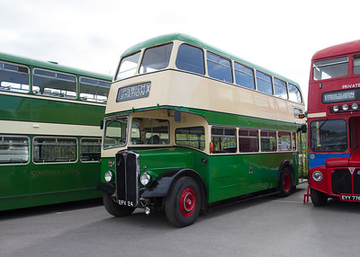 1956 - AEC Regent III Double-Deck Bus