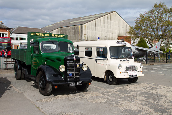 1950 - Bedford M Dropside Lorry & 1968 - Bedford CALV Ambulance