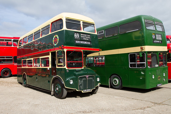 1965 AEC Routemaster Double-decker bus