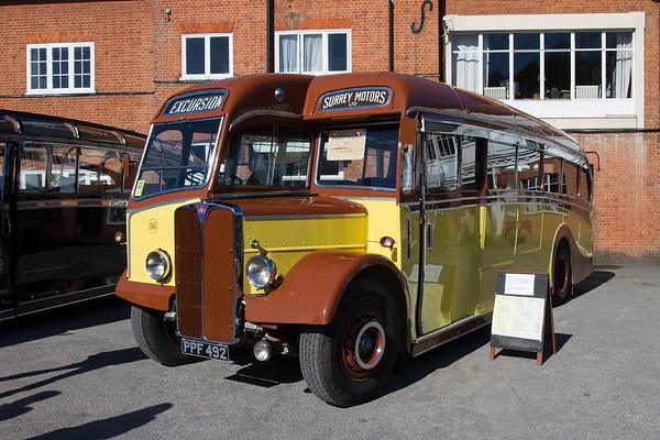 """1951 AEC Regal lll Coach """"Surrey Motors"""""""