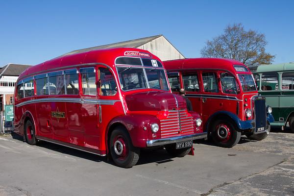 """1950 Leyland Comet CP01 Coach """"Scarlet Pimpernel"""""""