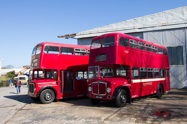 1955 AEC Regent V Double-decker bus