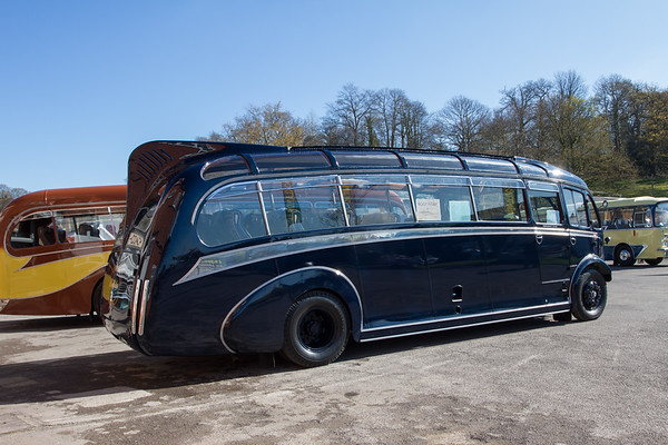 "1939 Leyland Cheetah Coach ""Blue Motors"""