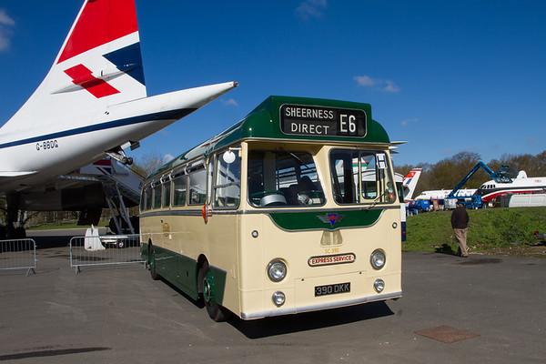 "1958 AEC Reliance Single-deck bus ""Maidstone & Dictrict"""
