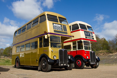 1954 - AEC Regent III Double-decker Bus - RT4712