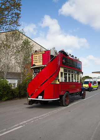 1925 - Dennis 4-ton Double-decker Bus - D142